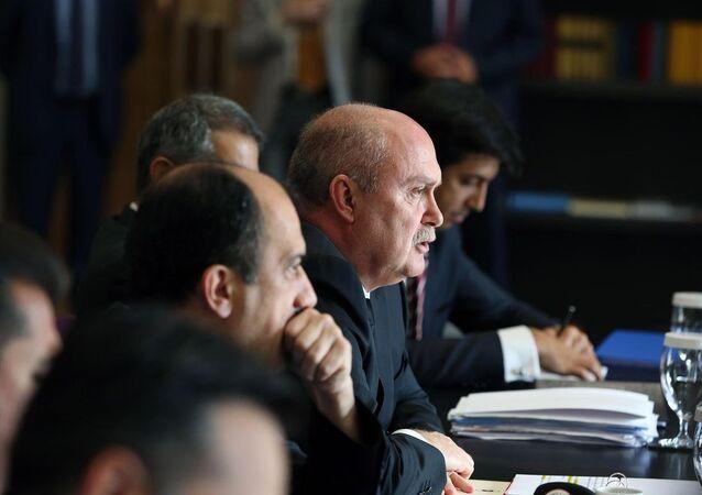 Dışişleri Bakanı Feridun Sinirlioğlu