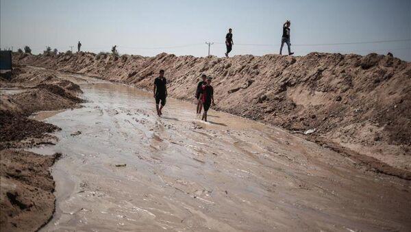 Mısır Gazze'deki tünelleri deniz suyuyla yıktı - Sputnik Türkiye