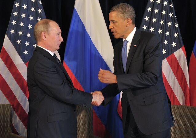 Vladimir Putin&Barack Obama