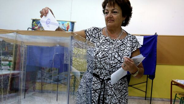 Yunanistan seçim - Sputnik Türkiye