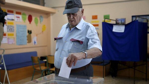 Yunanistan'da erken seçim - Sputnik Türkiye