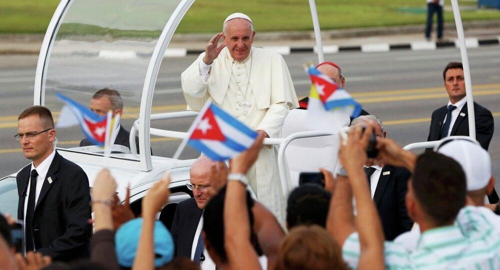 Papa Francis Küba'da