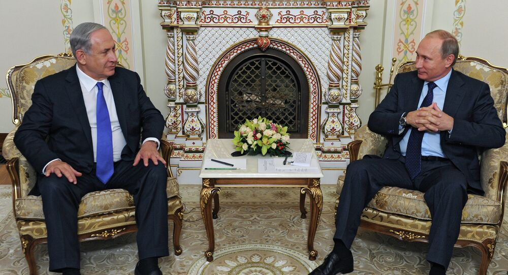 İsrail Başbakanı Benyamin Netanyahu ve Rusya Devlet Başkanı Vladimir Putin