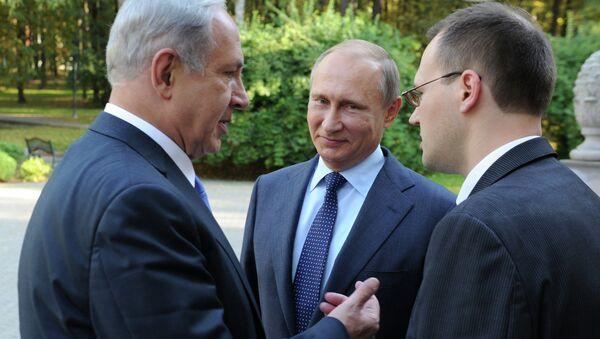 Vladimir Putin&Benyamin Netanyahu - Sputnik Türkiye