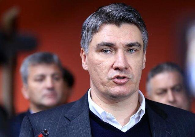 Hırvatistan Başbakanı Zoran Milanoviç