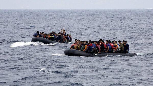 mülteci, kaçak, göçmen, sığınmacı - Sputnik Türkiye