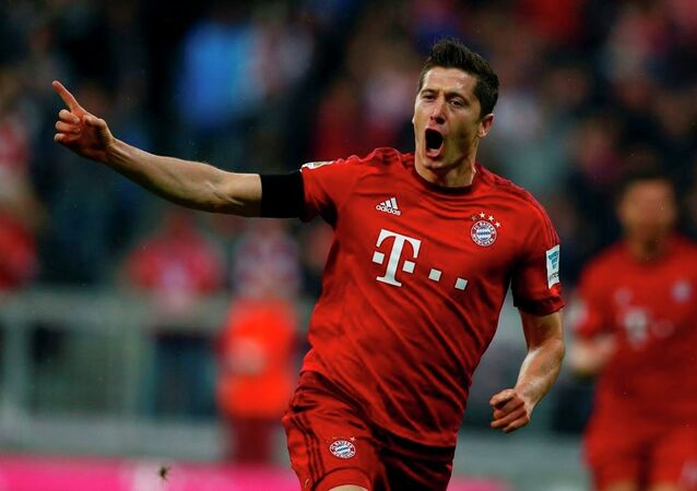 Bayern Münih futbolcusu Robert Lewandowski