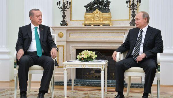 Erdoğan - Putin - Sputnik Türkiye