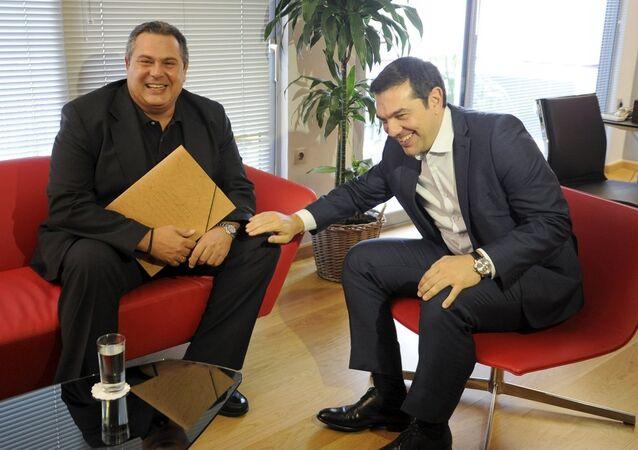 Aleksis Çipras - Panos Kammenos