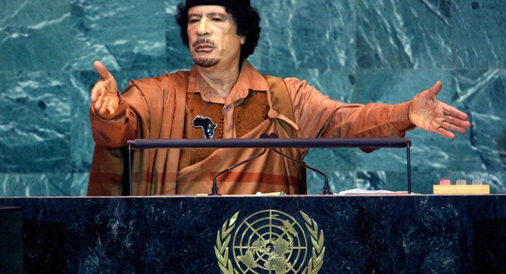 Devrik Libya lideri Kaddafi