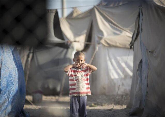 Çadır kentte Kurban Bayramı