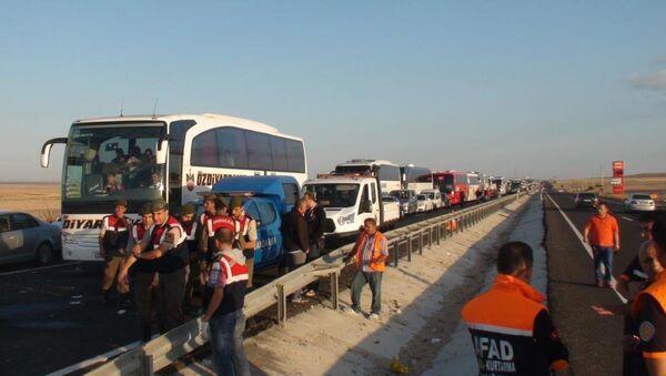Niğde'deki trafik kazası - Sputnik Türkiye