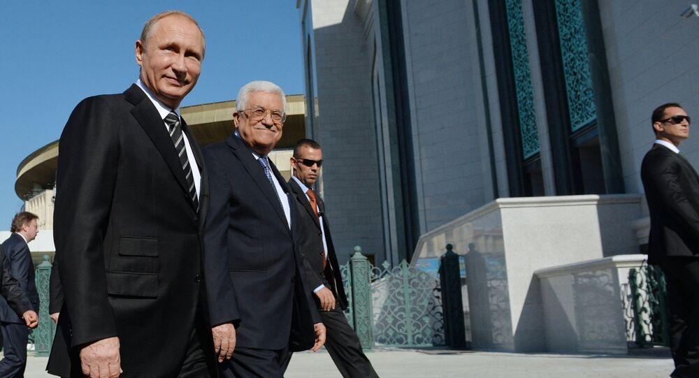 Rusya Devlet Başkanı Vladimir Putin - Filistin Devlet Başkanı Mahmud Abbas