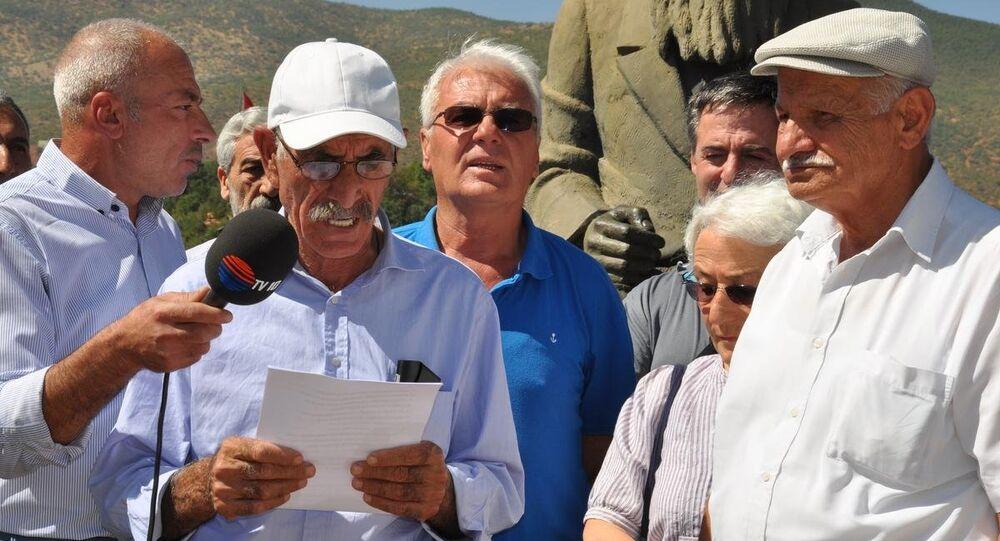 Tunceli'de Alevi dedelerinden barış için açlık grevi