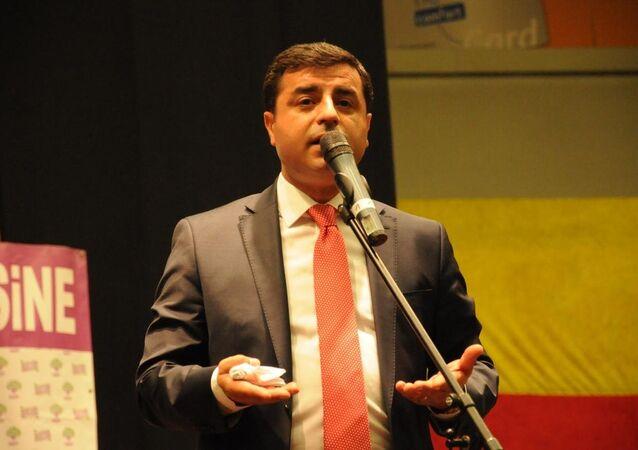 HDP Eş Genel Başkanı Selahattin Demirtaş Leverkusen'deki Smidt Arena'da düzenlenen Dayanışma Gecesi'nde konuştu.
