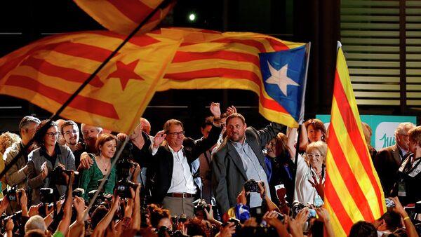 Katalonya'da seçim - Sputnik Türkiye