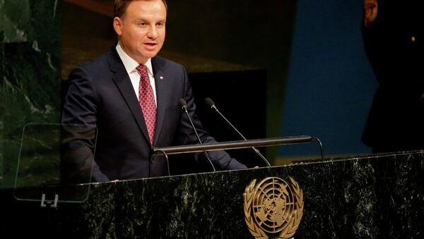 Polonya Devlet Başkanı Andrzej Duda - Sputnik Türkiye