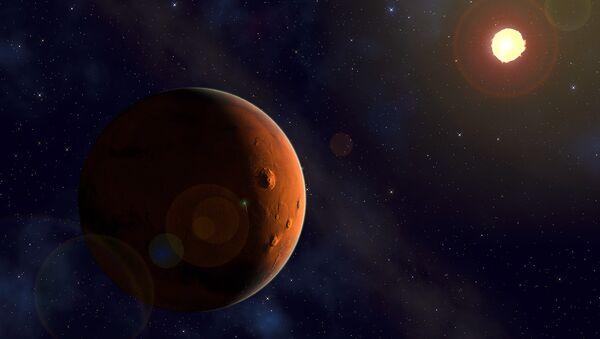 Mars ve Güneş - Sputnik Türkiye