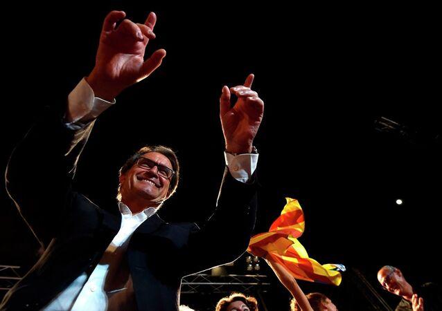 Katalonya lideri Artur Mas