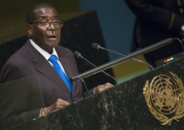 Zimbabve lideri Robert Mugabe