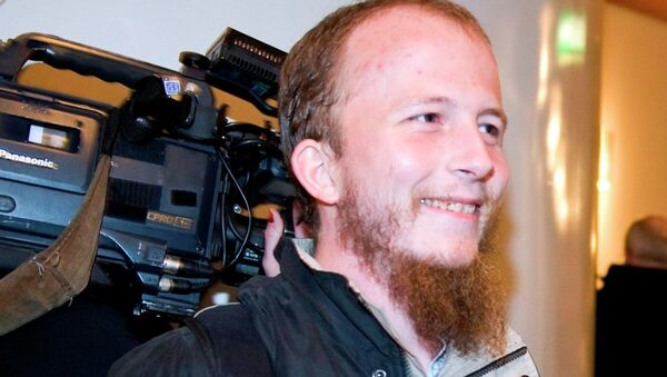 Pirate Bay kurucusu Gottfrid Svartholm - Sputnik Türkiye