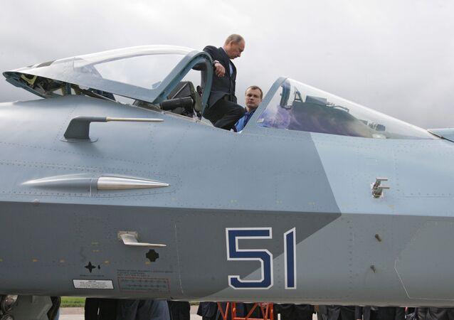 Vladimir Putin - T-50