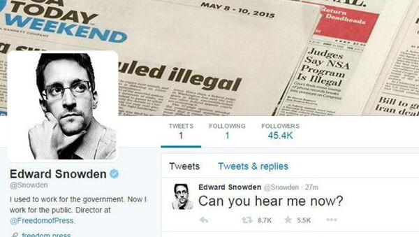 Edward Snowden twitter - Sputnik Türkiye