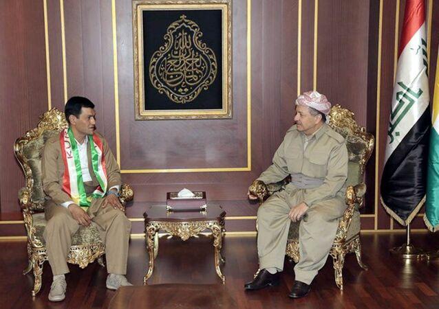 Abdullah Kurdi- Mesud Barzani