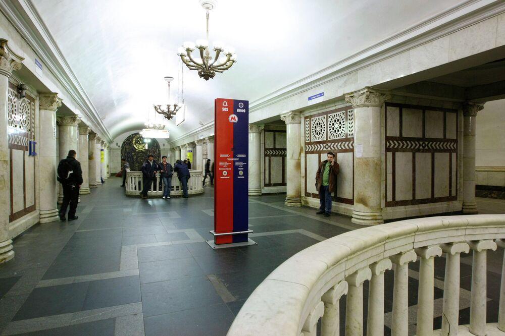 Paveletsakaya metro istasyonu.