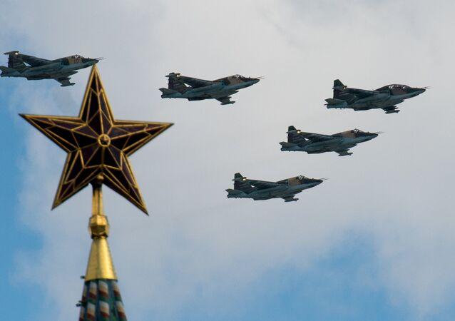 Sukhoi Su-25 tipi savaş uçağı