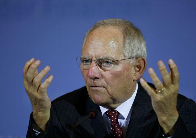 Alman Maliye Bakanı Wolfgang Schäuble