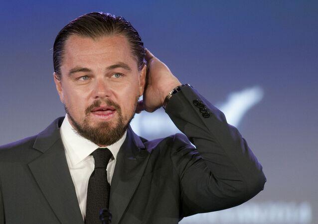 Amerikalı aktör Leonardo DiCaprio.