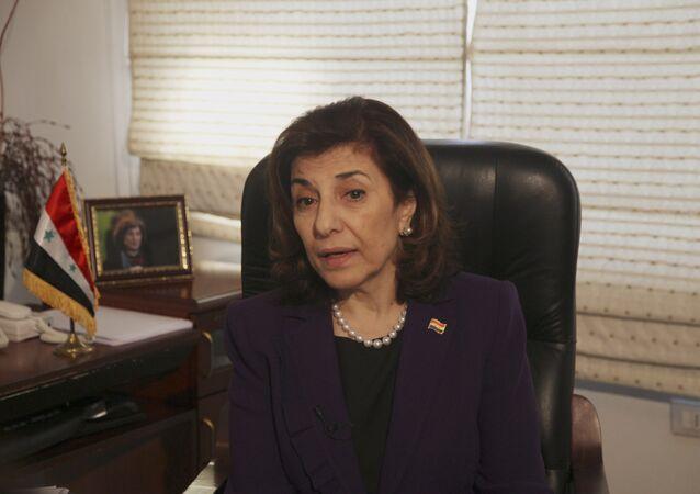 Suriye Devlet Başkanı Beşar Esad'ın danışmanı Buseyna Şaban  Tamamını oku: http://tr.sputniknews.com/ortadogu/20151001/1018081793.html#ixzz3nJCq8yS8