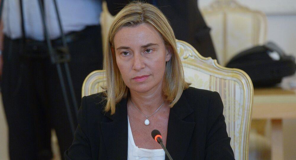 AB Dışişleri Yüksek Temsilcisi Federica Mogherini