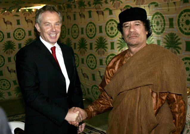 Tony Blair - Muammer Kaddafi