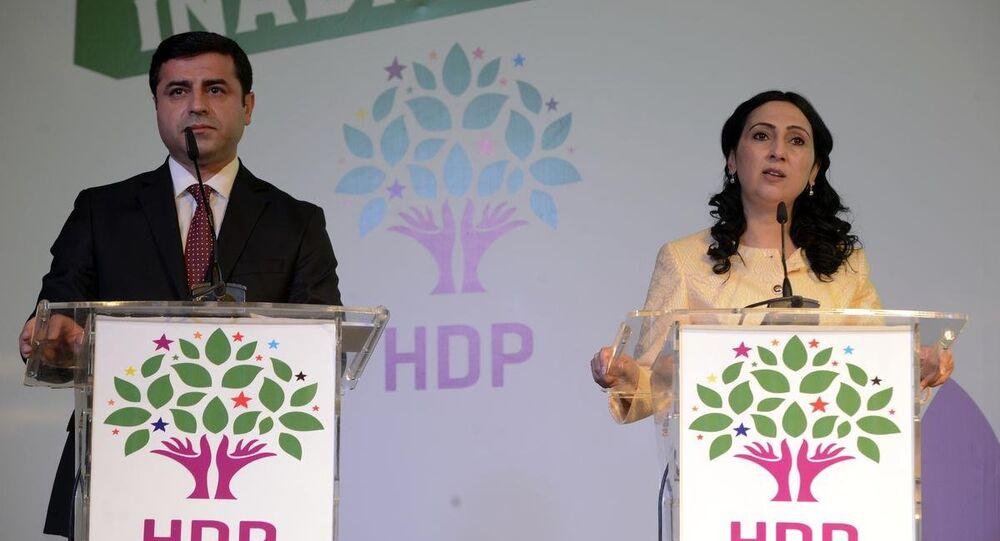 HDP'nin seçim bildirgesini açıkladı