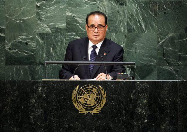 Kuzey Kore Dışişleri Bakanı Ri Su-yong