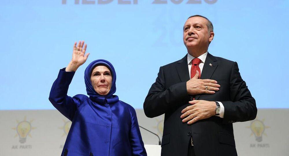 Recep Tayyip Erdoğan & Emine Erdoğan