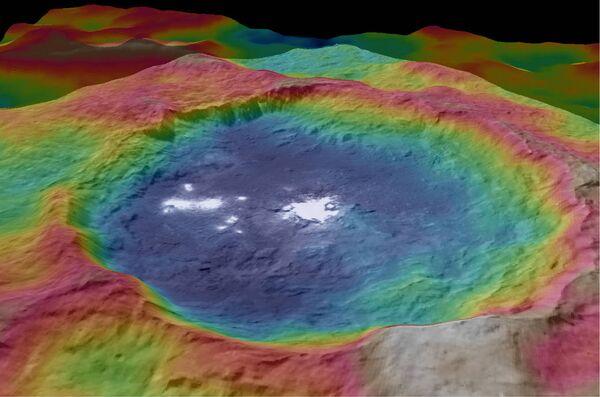 Ceres'in gizemli ışıkları - Sputnik Türkiye