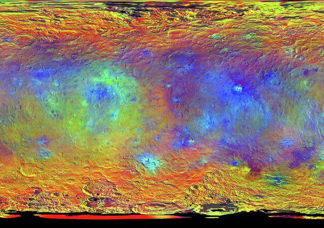 Ceres'in gizemli ışıkları