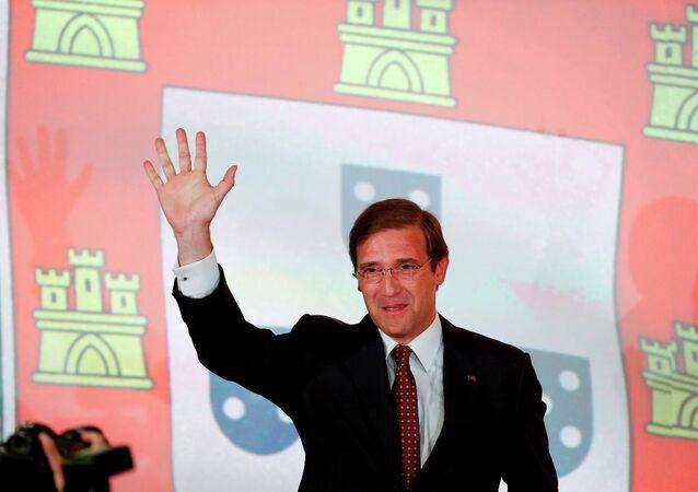 Portekiz Başbakanı Pedro Passos Coelho