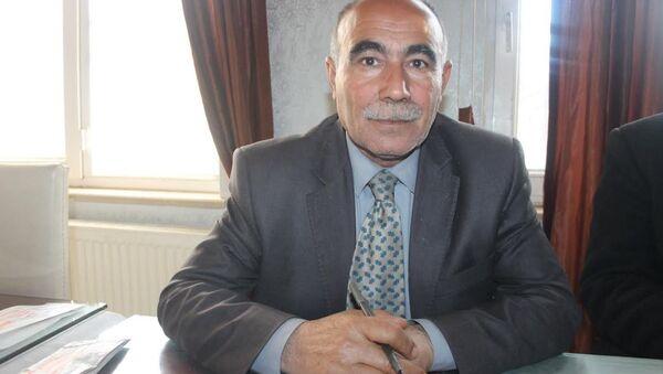 Suriye Kürtleri Ulusal Meclisi (ENKS) yöneticisi Mustafa Hanifi - Sputnik Türkiye