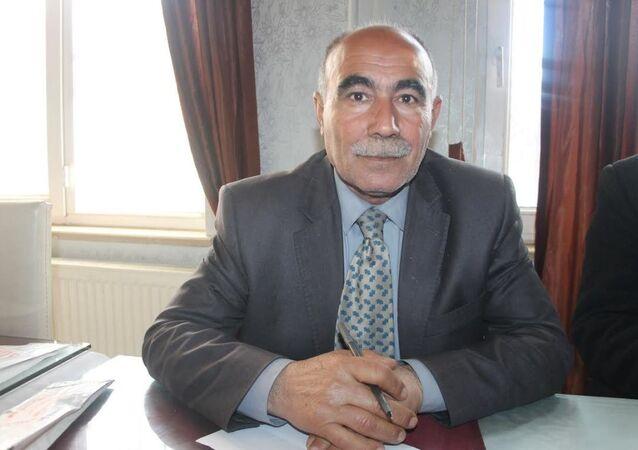 Suriye Kürtleri Ulusal Meclisi (ENKS) yöneticisi Mustafa Hanifi