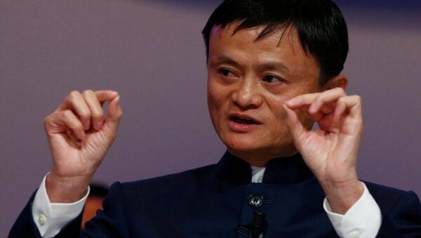 Alibaba'nın kurucusu ve sahibi Jack Ma - Sputnik Türkiye
