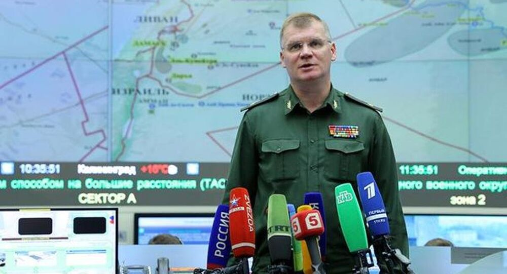 Rusya Savunma Bakanlığı Sözcüsü Tümgeneral İgor Konaşenkov
