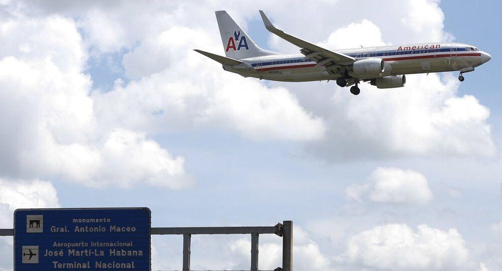 American Airlines- uçak