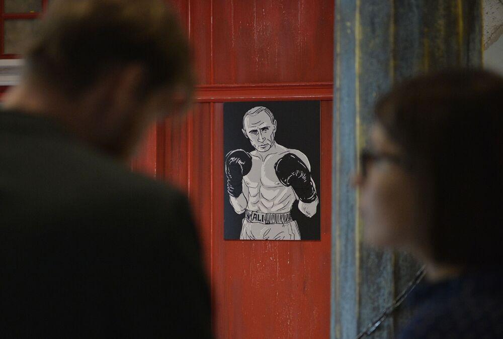 Putin'in Evreni sergisi