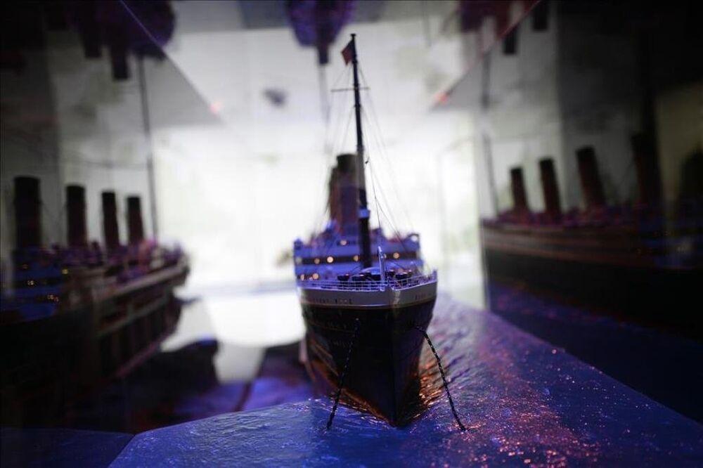Titanic'in tarihi objeleri Madrid'de sergileniyor