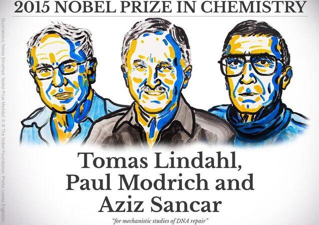 Nobel Kimya Ödülü 2015