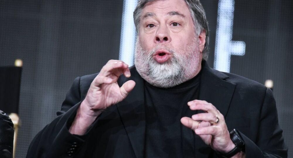 Apple şirketinin kurucularından Steve Wozniak